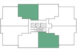 Building Map, 1 Bedroom, Plan A