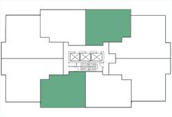 Building Map, 1 Bedroom, Plan B