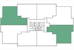 Building Map, 2 Bedroom, Plan B